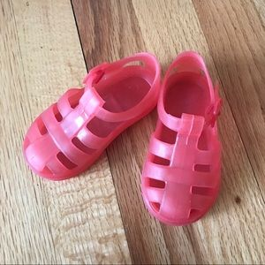 Zara Baby Jelly Rubber Shoes US Toddler 4 EU 20